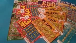 The Big £30,00•Scratchcard game•Instant £500's•£50Million Cash Showdown•Monopoly•️Holiday Cash.