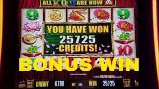 Wild Panda Gold Slot Machine  Bonuses Win  •$3 and $6 Bet• Live Play