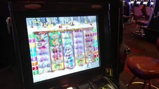 Live Play  Aristocrat White Water High Limit Group Pull $9 Bet