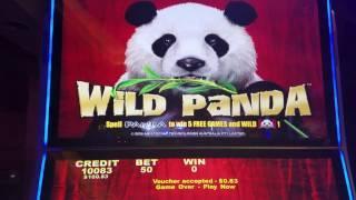 Wild Panda Slot Machine Bonus Big Win !!! Max Bet