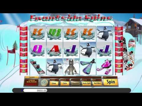 Free Frontside Spins slot machine by Saucify gameplay ★ SlotsUp