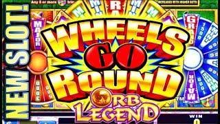 •$300 ARUZE SLOT CHALLENGE! • • WHEELS GO ROUND - ORB LEGEND Slot Machine Bonus (PART 2 OF 3)