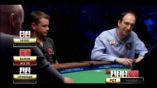 View On Poker: WSOP Rounders Revenge - Erik Seidel VS Matt Damon