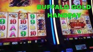• LIVE STREAM At San Manuel Casino | Next to me hit •HANDPAY JACKPOT• at Buffalo Gold