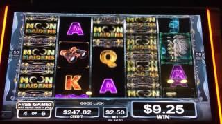 Moon maidens slot machine free spins big win