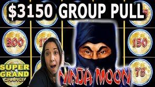 • $3,150 GROUP PULL • DOLLAR STORM NINJA MOON • PLAZA LAS VEGAS