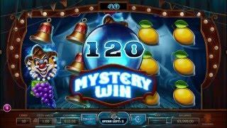 Wicked Circus slot from Yggdrasil Gaming - Gameplay