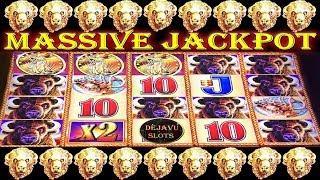 • MASSIVE JACKPOT • INSANE AMOUNT OF RETRIGGERS | MY BIGGEST WIN ON BUFFALO GOLD