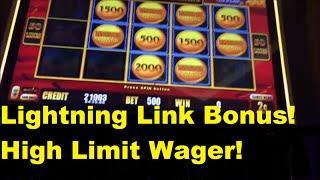 High Limit Lightning Link Bonus