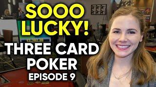AWESOME WINNING SESSION! 3 Card Poker! HUGE HAND! $1000 Buy In! Episode 9