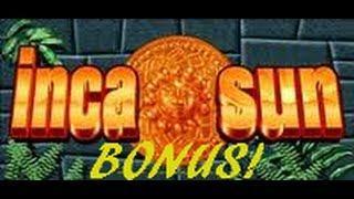 Inca Sun - Aristocrat Slot Machine Bonus Win - 5 cent denom