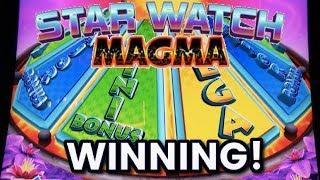 KONAMI * STAR WATCH MAGMA SLOT * FEATURES AND WINNING PROGRESSIVES!