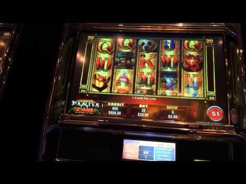 Panda King LIVE PLAY high limit slots and bonus