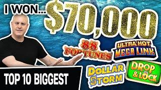 ⋆ Slots ⋆ I Won $70,000 Playing High-Limit Slots Last Month! ⋆ Slots ⋆ Come Watch ALL My BIGGEST JACKPOTS