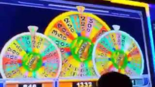 Wheel Of Fortune Triple Spin Bonus IGT