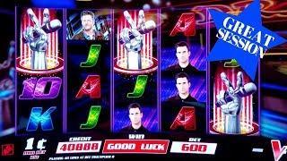 THE VOIC Slot Machine $6 Max Bet Bonuses Won | BIG WIN & GREAT SESSION