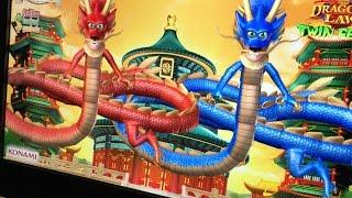 "Dragon""s Law Twin Fever Slot Bonus - Konami"