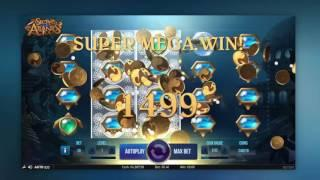 Secrets of Atlantis Slot Review Featuring Big Wins With FREE Coins  (Netent)