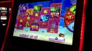 Goldfish III Slot Machine Red Fish Bonus #1 MGM Casino Las Vegas