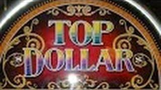 Top Dollar Slot Machine Bonus-dollar Denomination-Bellagio