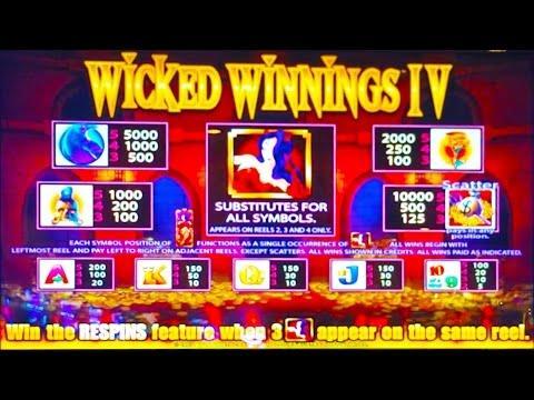 Wicked Winnings IV slot machine, DBG #21
