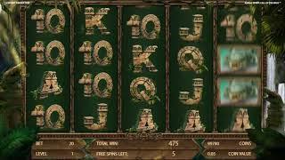 Jungle Spirit Call of the Wild slots - 1,195 win!
