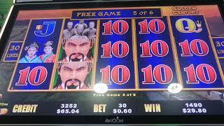 Dragon Cash $50 in pokie/slot/13