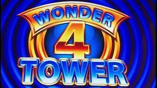 Wonder 4 Tower Slot Machine-Live Play