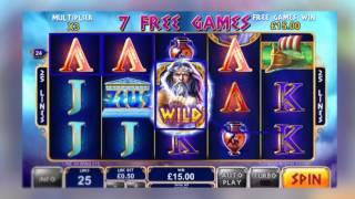 Age of the Gods: King of Olympus Online Slot from Playtech - Bonus Feature & Free Games