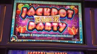 Jackpot Block Party Slot Machine Bonus & Preview!