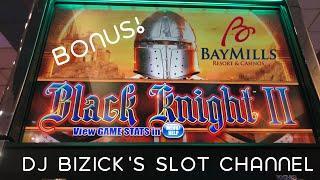 •BLACK KNIGHT SLOT MACHINE• LOCKING WILD BONUS •BAY MILLS CASINO•