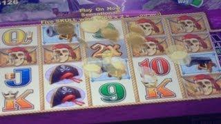 BIG WIN! Captain Cutthroat Slot Machine Bonus! (Part 1 Of 4) ~ Aristocrat