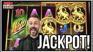 JACKPOT!! AMAZING HANDPAY ON WILD WILD EMERALD SLOT MACHINE!! YOU'RE GONNA LIKE THIS ONE!