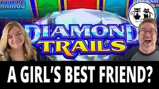 DIAMOND TRAILS ARE A GIRL'S BEST FRIEND!