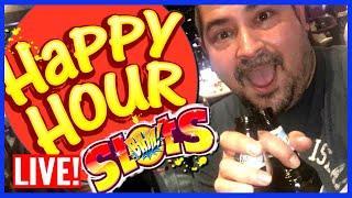 • SLOTS & HAPPY HOUR! • LIVE PLAY SLOTS! | Slot Traveler