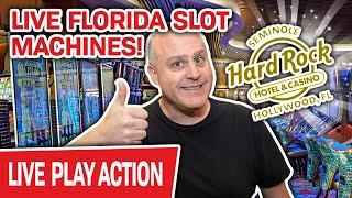 ⋆ Slots ⋆ DAY 3 of LIVE FLORIDA SLOT MACHINES! ⋆ Slots ⋆ Let's Go Out with a BOOM @ Hard Rock