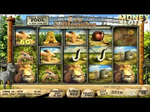 Zoo Zillionaire Video Slots Review  |  MoneySlots.net