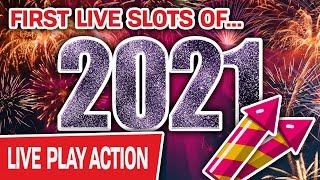 ⋆ Slots ⋆ FIRST VEGAS LIVE SLOT PLAY OF 2021 ⋆ Slots ⋆ Let's Start the Year With Some JACKPOTS!