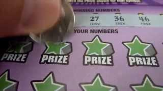50X the Cash - $20 Illinois Lottery Instant Scratchcard Video