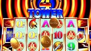 • BIG WINS • I MADE IT TO THE TOP! SUPER FREE WONDER 4 TOWER | SlotTraveler