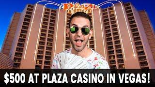 •LIVE Betting $500 at Plaza Las Vegas!