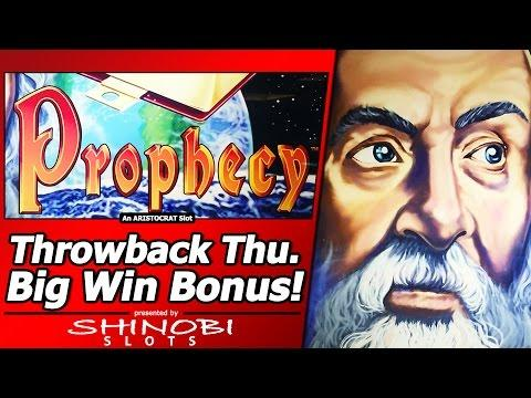 Prophecy Slot - TBT Live Play and Two Free Spins Bonuses with a Big Win
