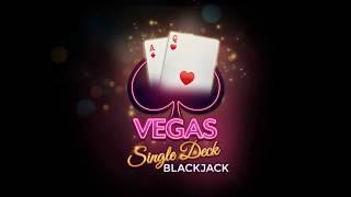 Vegas Single Deck Blackjack Promo