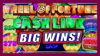 LET'S PROFIT! • WHEEL OF FORTUNE CASH LINK SLOT MACHINE • BIG WIN WHEEL SPINS & BONUSES • MAX BET