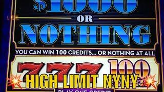•High Limit Slot Play at NYNY•Las Vegas Live Play•