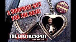 • The Raja Unexpectedly Scores A Big Jackpot On Lock It Link! •