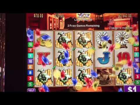 Rawhide Slot Machine Nice Jackpot!!! High Limit