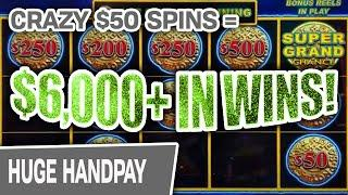 ⋆ Slots ⋆ $6,000+ In SLOT MACHINE WINNINGS ⋆ Slots ⋆ CRAZY $50 Spins on Dollar Storm: Caribbean Gold