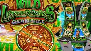 •WILD LEPRE'COINS GOLD RESERVE• Lets win all the Leprechauns GOLD•