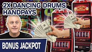 ⋆ Slots ⋆ Double Dancing Drums Handpay JACKPOTS ⋆ Slots ⋆ INCREDIBLE Pharaoh's Fortune Slots